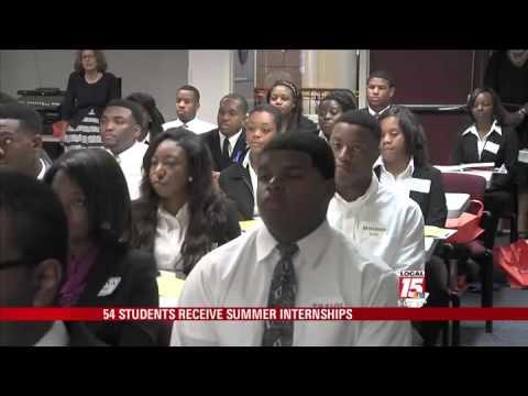 54 Students Receive Summer Internships