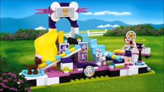 Smyths Toys - LEGO Friends Puppy Championship 41300