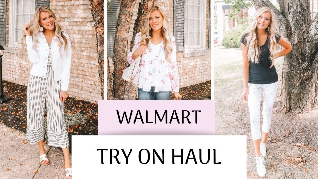 Walmart Try On Haul | Summer/Fall Transition Outfits 2019 2