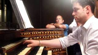 Jonathan Hope: Dupre Evocation (rehearsal for recital at Saint-Sulpice, Paris)