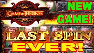 GOODBYE GAME OF THRONES ★ NEW SLOT MACHINE ★ MY LAST SPIN EVER