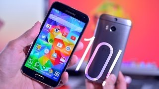 10 Reasons why Samsung Galaxy S5 Beats the HTC One M8!