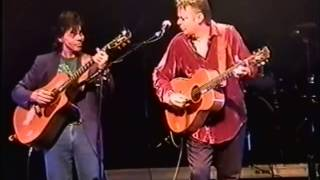 "Tommy and Phil Emmanuel playing ""The Ashokan Farewell"" in France,2001."