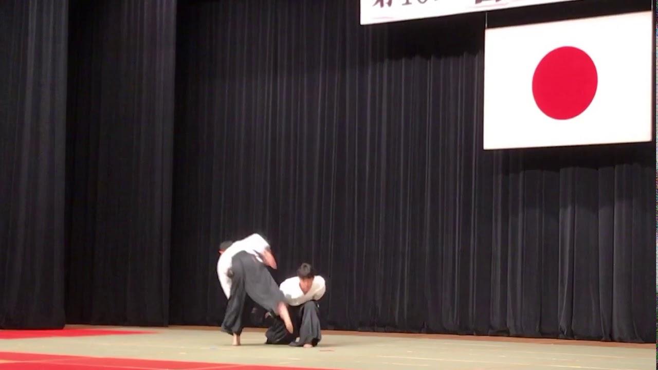 【合気道】師範演武 第40回合気道演武会【合気道掌法会(Aikido Shohokai)】
