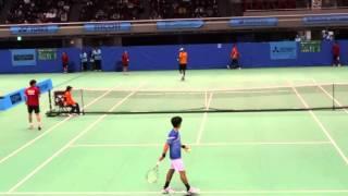 Yuichi Sugita (JPN) vs Rajeev Ram (USA) ②  Tennis Japan League 2016 Mitsubishi Electric vs IKAI
