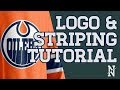 Logo & Stripe Tutorial - SportsTemplates Hockey