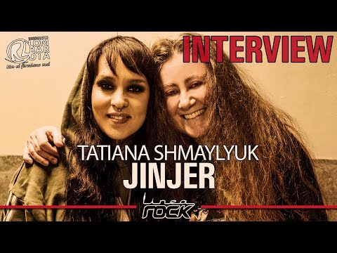 JINJER - Tatiana Shmaylyuk interview @Linea Rock 2019 by Barbara Caserta