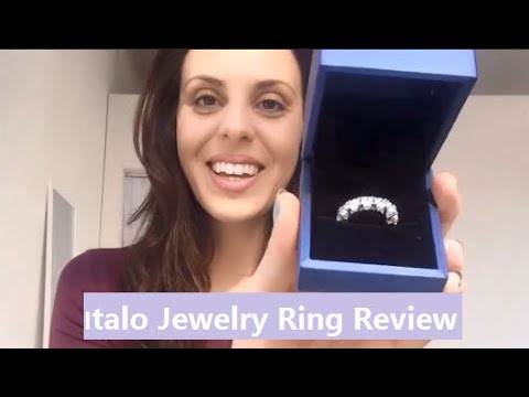 Italo Jewelry Review By Kati Moore | Unique Sterling Silver Wedding Bands For Women Online