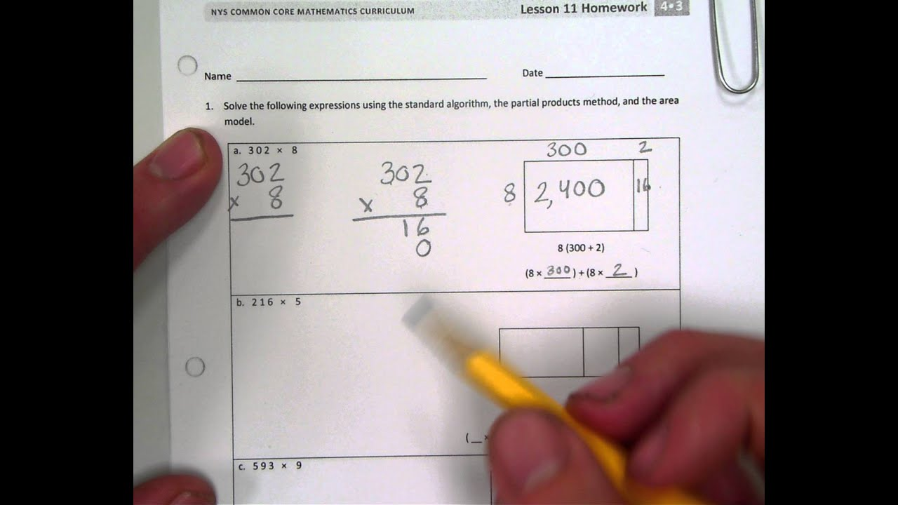 Grade Mathematics Module Topic C Lesson EngageNY