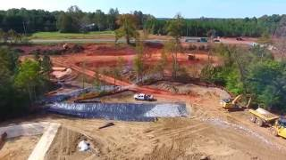 64 ByPass Construction at hwy 42... Phantom 4 drone