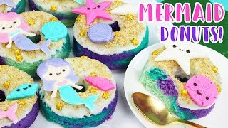 How to Make Mermaid Donuts! 💕🐠