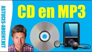 Comment copier un cd audio vers un lecteur mp3 ou son téléphone