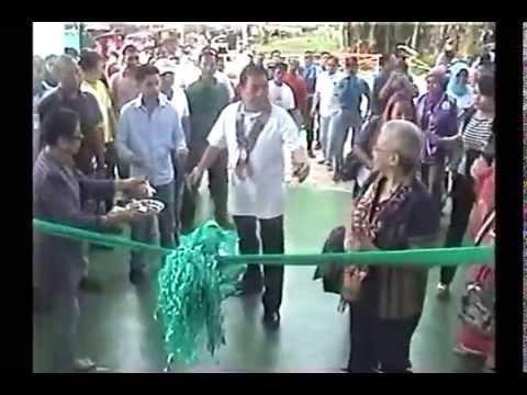 Inauguration of Multi Purpose Gym at Batu Haba Matatal, Maimbung