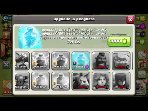 Clash Of Clans Ultimate Gems 99999999 2015 2016 Full