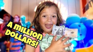 Evee WON a MILLION DOLLARS!