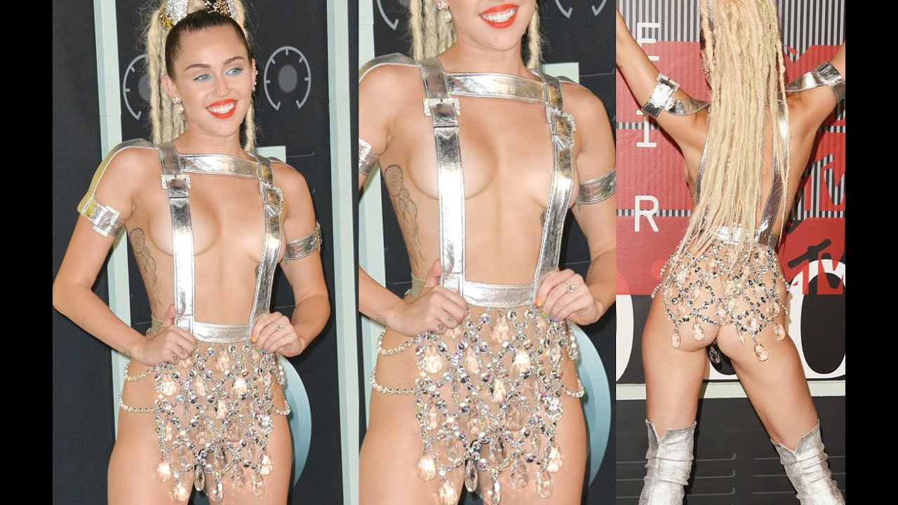 Looking tart, naked pictures of miley cyrus boobs it