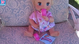 BABY ALIVE EASTER Egg HAUL+HUNT Compilation: Baby Alive Channel 2006 Soft Face+Wets N Wiggles