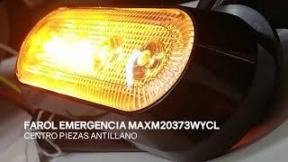 FAROL DE EMERGENCIA LED MAXM20373WYCL