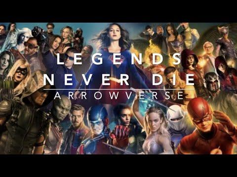 Arrowverse ✦ Legends Never Die