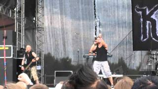 Kiuas - Of Love, Lust, and Human Nature clip (Myötätuulirock, Vantaa, 2010)