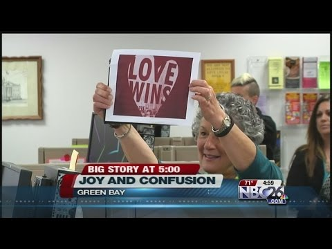 Same-Sex Marriages Begin in Brown County