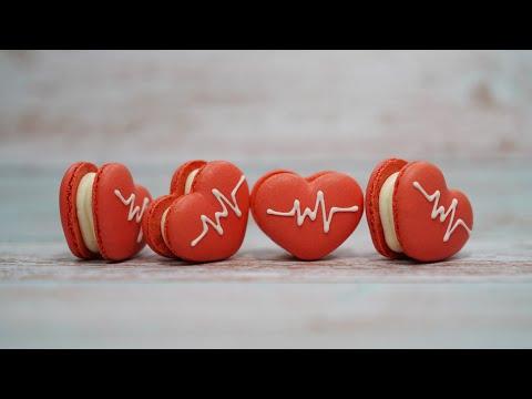 How to easily make Heart-shaped Macarons 하트 마카롱 쉽게 만드는 법ㅣSUGAR BEAN