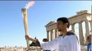 Chama olímpica prepara-se para viajar para Londres