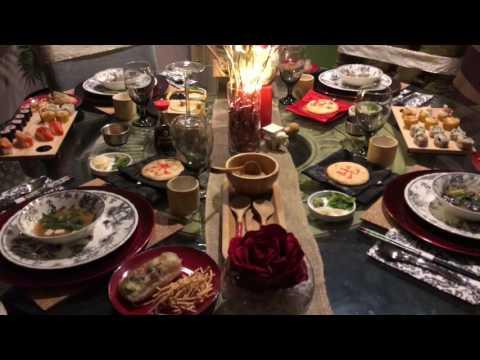 HILARY EVENTS ASIAN INSPIRED CHRISTMAS DINNER PART 2
