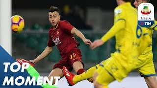 El Shaarawy openes the scoring in the 9th minute | Chievo 0-3 Roma | Top Moment | Serie A