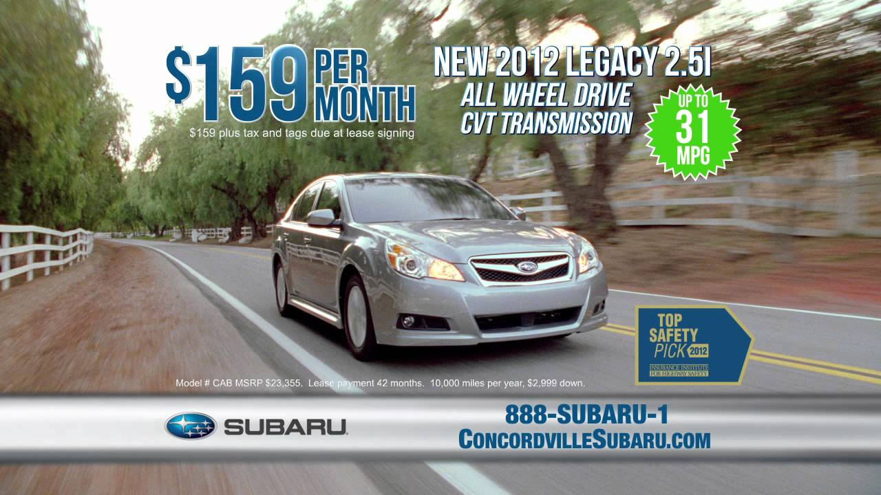 Concordville Subaru Tv Commercial We Care About Your Time Youtube