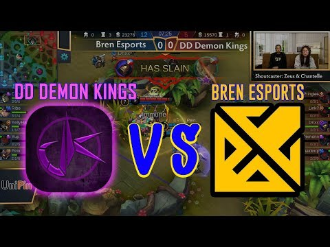 Bren Esports Vs DD Demon Kings (BO3) Just ML League 4 Day 4