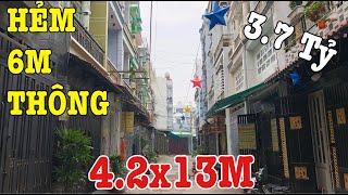Bán Nhà Quận 12,Nhà Lửng 2 Lầu Hẻm 6M Thông Đường Hiệp Thành 13 P.Hiệp Thành Cách Mặt Tiền Chỉ 50M