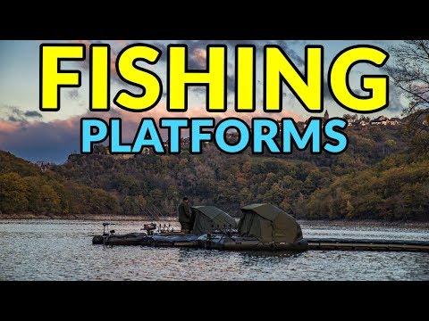 5cb61bd584a0 Floating Fishing Platforms - YouTube