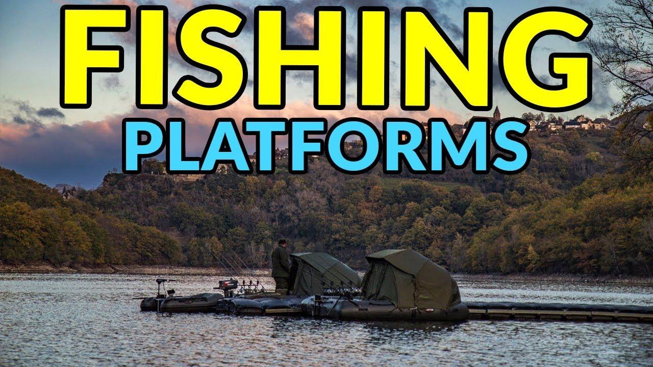 8f77cbf8a5a9 Floating Fishing Platforms. Awesome Stuff 365