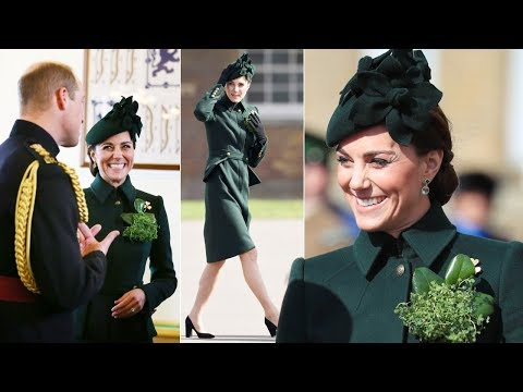 Kate looked beautiful as ever as she & William celebrated St Patrick's Day