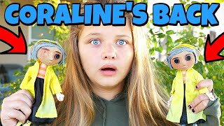 Coraline Creepy Doll IS BACK! IS The DollMaker Sending Dolls or The Other Mother?