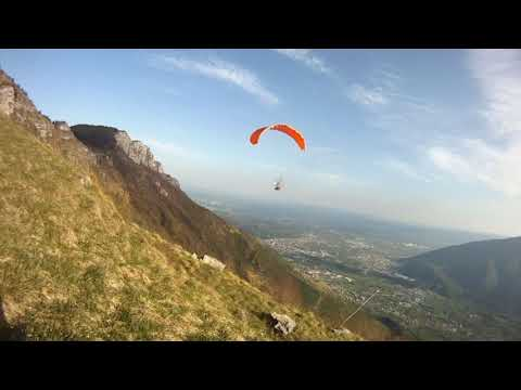 MIM Paramodels RC PARAGLIDER SLOPE FLYING AND ACRO