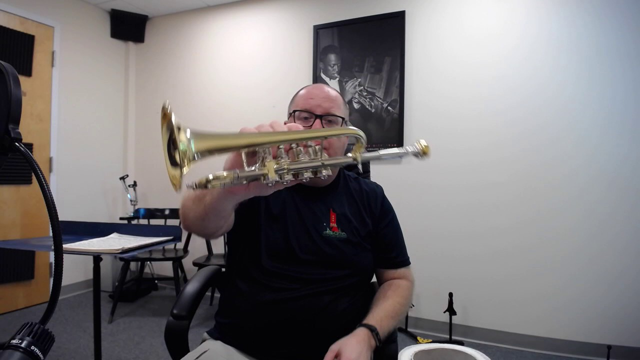 new austin custom brass doubler 39 s model rotary piccolo trumpet for sale youtube. Black Bedroom Furniture Sets. Home Design Ideas