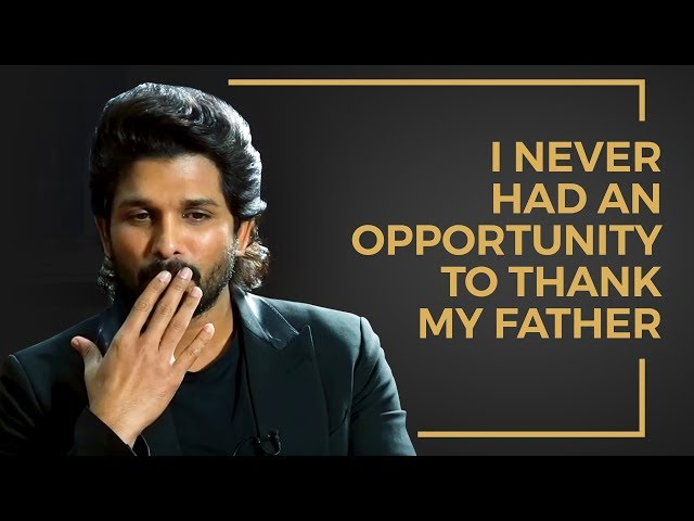 Allu Arjun | I NEVER had and opportunity to thank my Father | Ala Vaikunthapurramuloo | #AA19