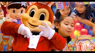 Jollibee Birthday Party - Jollitown Party Package with Twirly and Jollibee