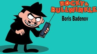 How to draw Boris Badenov | Rocky and Bullwinkle | Drawing and coloring step by step