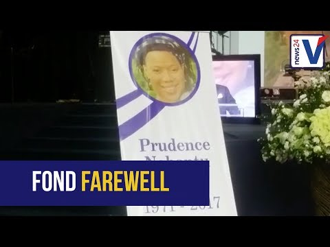 HIV/Aids activist Prudence Mabele laid to rest