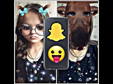 Вопрос: Как пользоваться фильтрами в Snapchat?