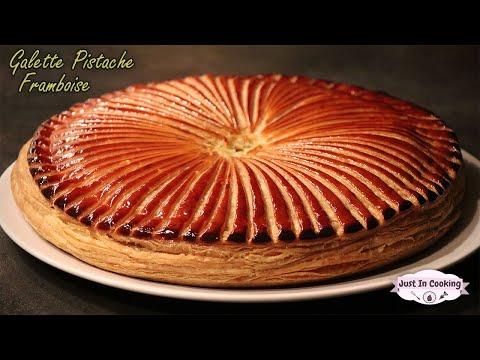 recette-de-galette-des-rois-pistache-framboise