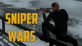 SNIPER WARS (Goldeneye Source w/ Goldy & Friends)