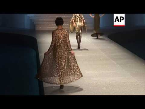 94-year-old designer Pierre Cardin skips appearance at fashion show celebrating his designs from the