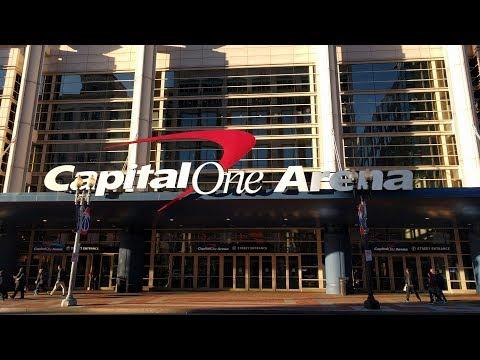 Game-day tour of Capital One Arena (Washington Capitals - NHL) in Washington, DC