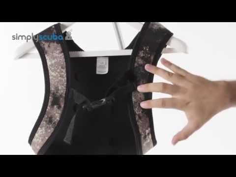 Seac Sub Python Camo Weight Vest - www.simplyscuba.com