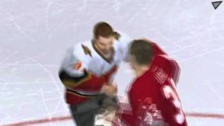 NHL 2006 - Two Goalie fights