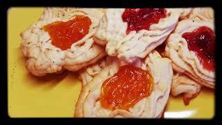 Печенье хризантемы,через мясорубку!